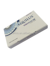 aquilus clear corrective monthly contact lenses