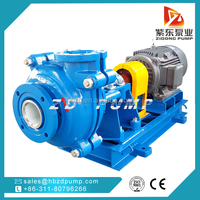 centrifugal slurry pump / volcanic mud ash pump