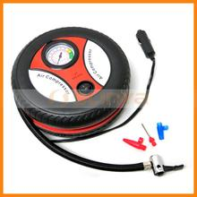 Promotional Gifts Round Car Tyre Air Pump with Customized Logo