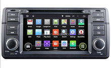 Quad Core Android 4.4.4 Car Dvd Player For E46 (1998-2005) M3(1998-2005) With 16GB Flash Mirror Link GPS Free Map Free Shipping