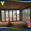 YY CONSTRUCTION with reasonable easy operation aluminum frame glass bi folding door price