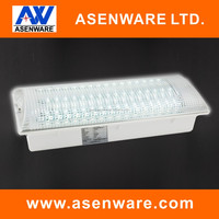 New design Rectangular ceiling lamp 8w led emergency light with 5pc bar, 16pcs LED/bar