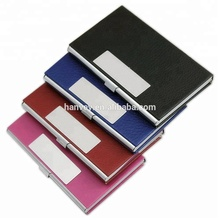 High quality wholesale cheap RFID Block customized id name business card holder case