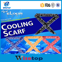 New Summer Cooling Scarf Outdoor Sports Absorb Heat Headband Wristband Men Women
