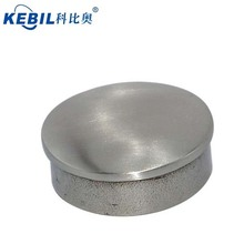 round stainless steel handrail fence post base plate aisi304/316