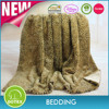 2014 NEW design 100% polyester faux fur blanket queen/two sided mink borrego blanket