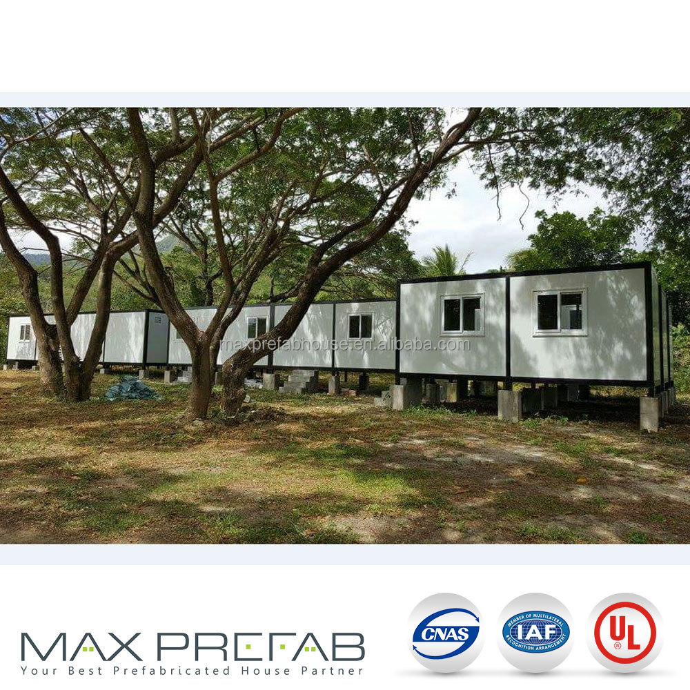 Malaysia light steel prefab container house for sale