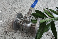 2pc Floating Ball Valve with ISO 5211