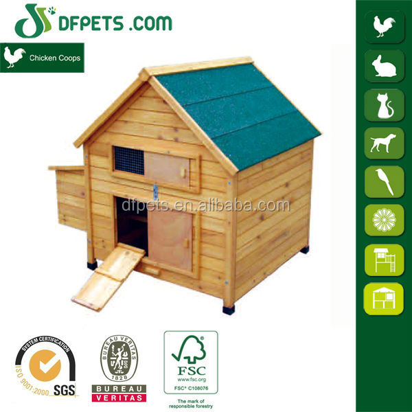 DFPETS DFC015 Chicken Coop Poultry Farm House Design