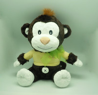 Most Popular 2014 china soft toy top 10 Sales promotion promotion gift stuffed monkey plush toy