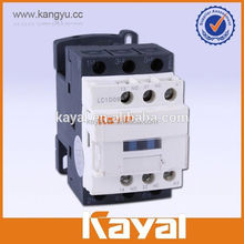 din rail mounted 3 electrical pole contactor