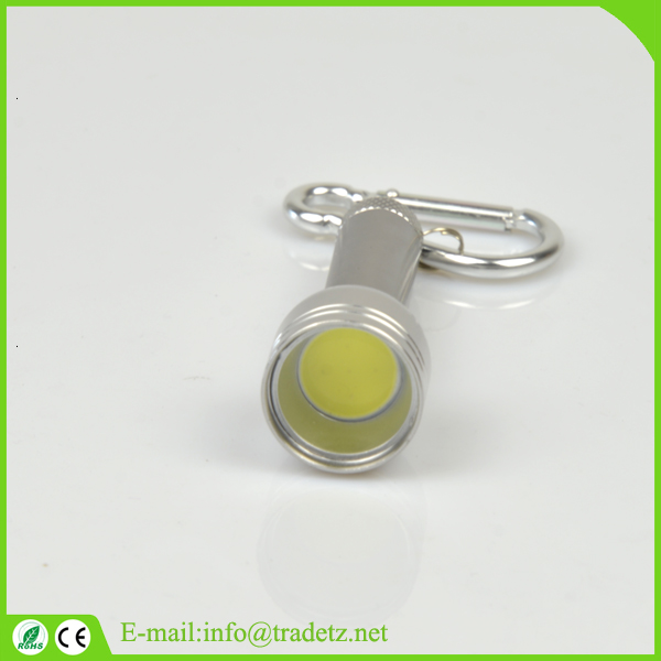 Promotion Factory Bulk Sale Logo printed Best flashlight keychain,Metal keychain light