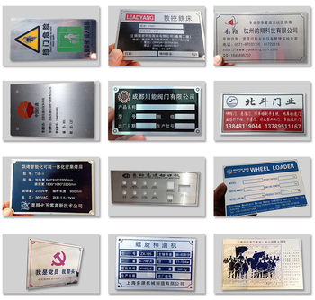 Nameplate Manufacturers, Nameplate Suppliers