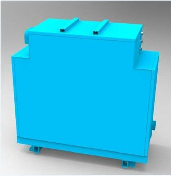 battery module for electric sanitation vehicle