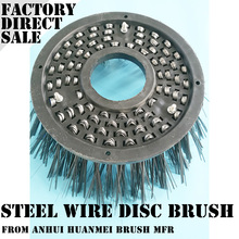 China Alibaba Supply Road Sweeper Brushes With Stainless Steel Wire Filament