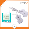 china supplier 2 channels electronic pulse massager therapy