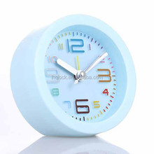 colorful table clock with alarm