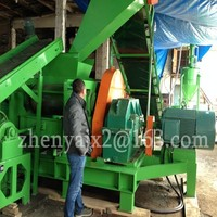 high output Reclaimed rubber production line/ Rubber sheet production line/old tyre recycling line machine
