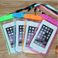 waterproof cell phone cases,mobile phone PVC waterproof bag for promotional gift waterproof bag cell phong bag