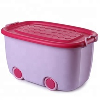 plastic storage boxes & bins