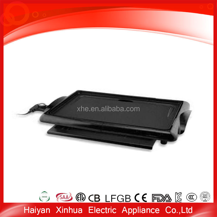 Coated electric ceramic griddle