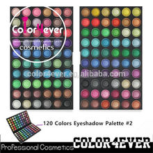 Hot!!!Professional 120 Color Makeup Palette Naked Shades Eye Shadows arabic eye shadow