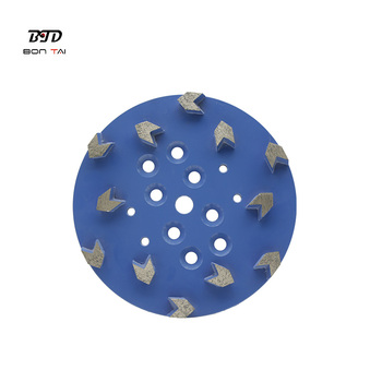 250mm diamond grinding head for Blastrac grinder