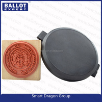 Indelible ink stamp fingerprint ink pad from seal of custom specialist