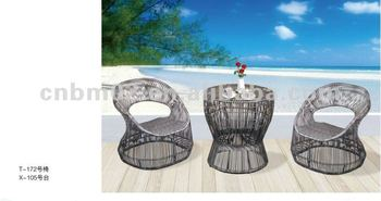 Hot Selling Patio Rattan Outdoor Wicker Chair