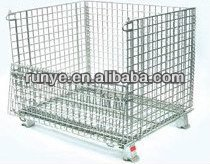 Stackable mesh cage for auto parts /mesh container/strong material box