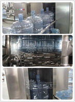 new developed 5 gallon bottle washing filling capping machine