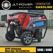 JLT POWER 50hz 4-stroke 2kva gasoline generator 2500 with CE GS