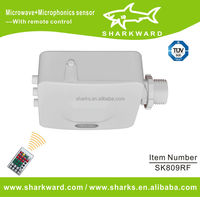 Remote control microwave sensors for light switch