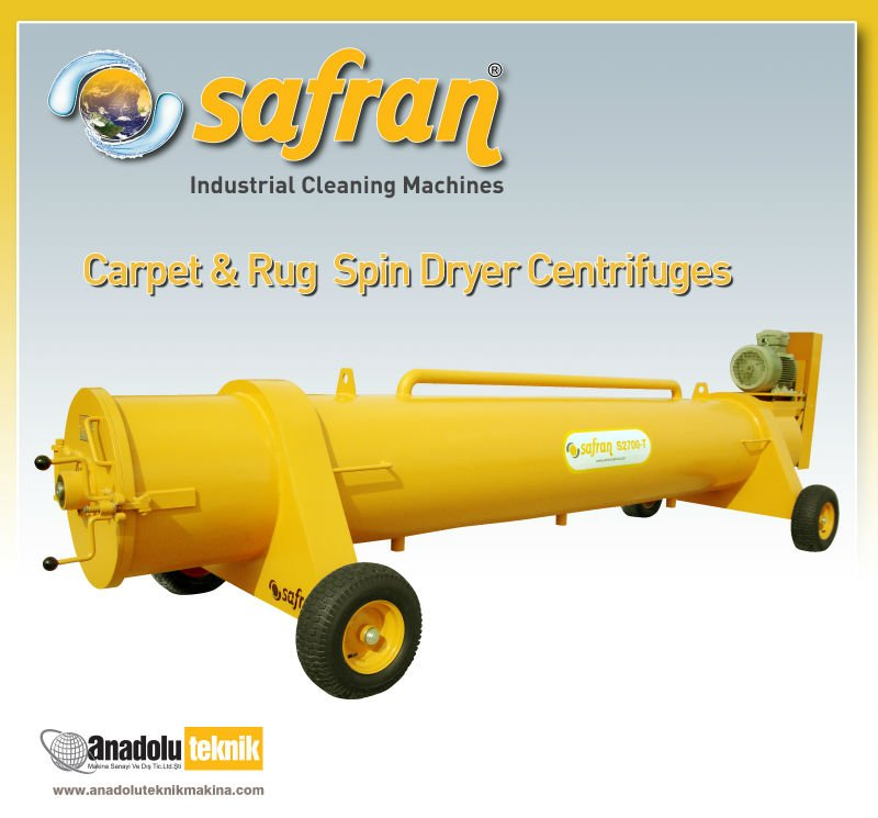 Carpet&Rug Spin Dryer Centrifuges S4500T