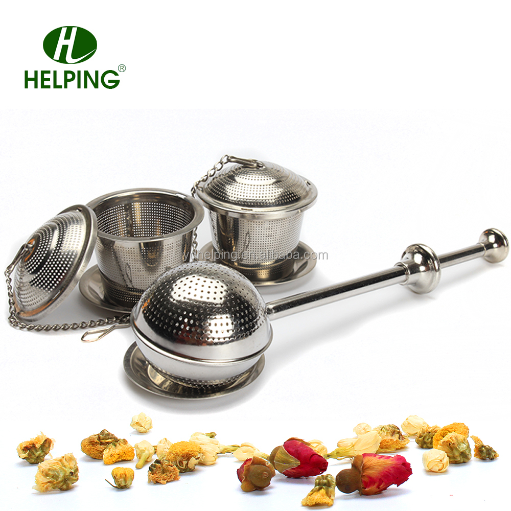 stianless teel Creative tea infuser set