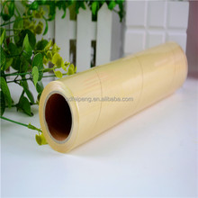 Clear food grade plastic wrap PVC cling film jumbo roll