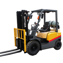 High quality nissan K21 engine 2ton gasoline manual hand stacker forklift