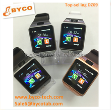 New products bluetooth big screen watch phone Dz09 touch screen mobile watch phone price list