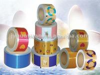 Printed Aluminum Foil Cap Sealing For Beverage Bottle