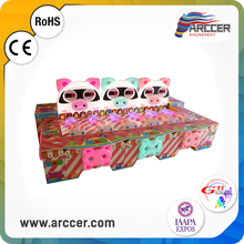 Rolling Pig arcade game machine rolling ball game machine Indoor football table soccer game