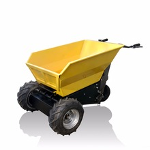Self-unloading electric motor small wheel loader for palm garden