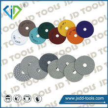 "4"" 100mm Diamond tools dry/ wet polishing pads for concrete, granite, marble"