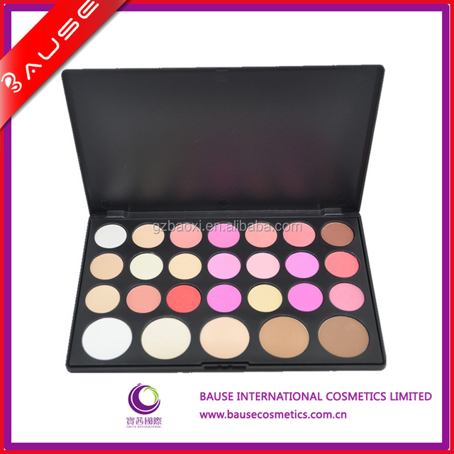 26 colors Blusher & Shading powder makeup palette cosmetic palette
