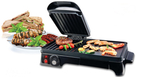 Teflon Electric Grill With Temperature Adjustable Knob