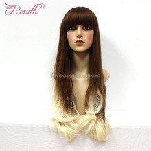 Finger wave wig, wholesale ombre wig cosplay