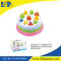 Creative design funny plastic cake toy for baby