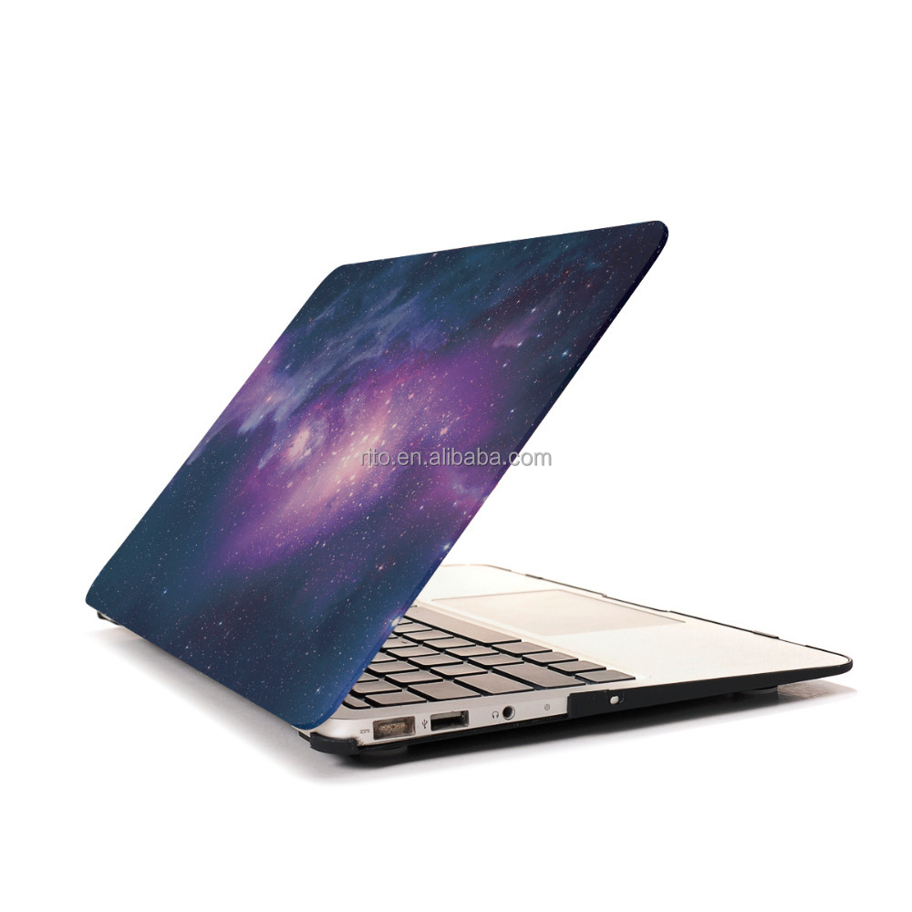 Hard Shell Case Pattern for MacBook Air 13, Purple Galaxy Laptop Case for MacBook A1369