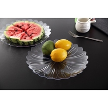 Custom made clear plastic trays and lids for fruit acrylic stacking trays