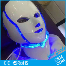 BINZIM Infrared Blue Red Purple Light 4 colors phototherapy mask Face Lifting LED Facial Mask