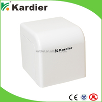 Factory price paper box holder for car, bronze toilet paper stand